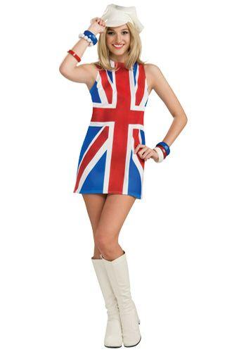 Austin Powers Girl British Invasion Halloween Costumes