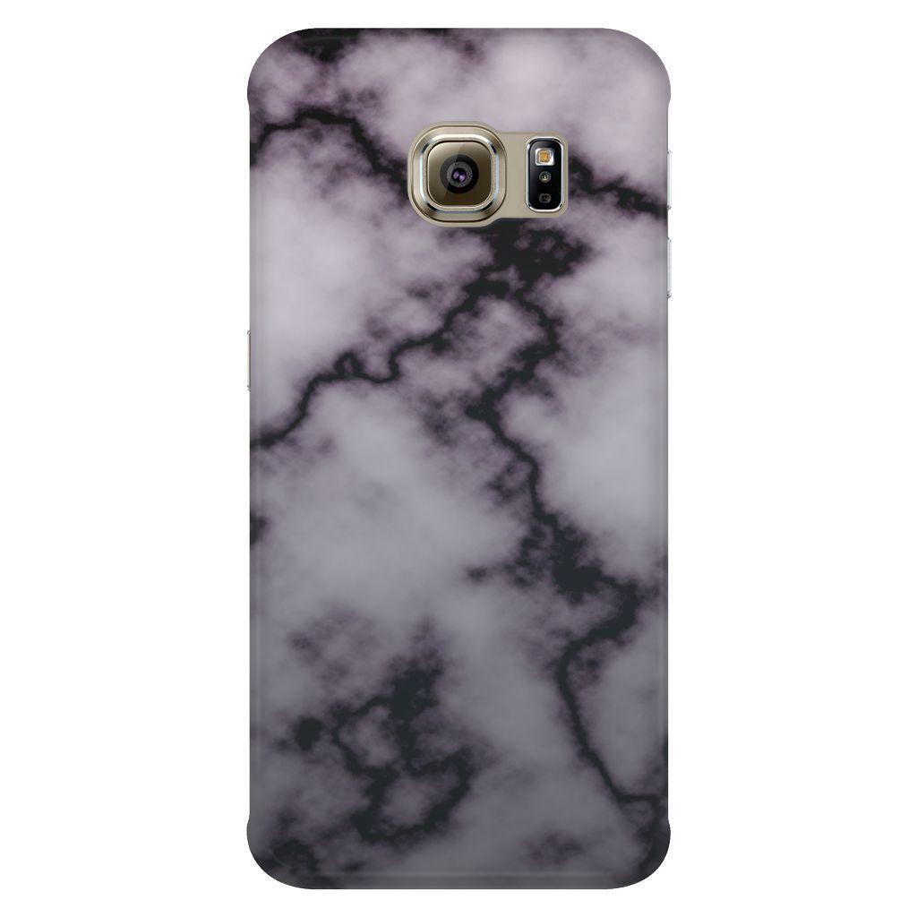 Dark Marble Galaxy Case