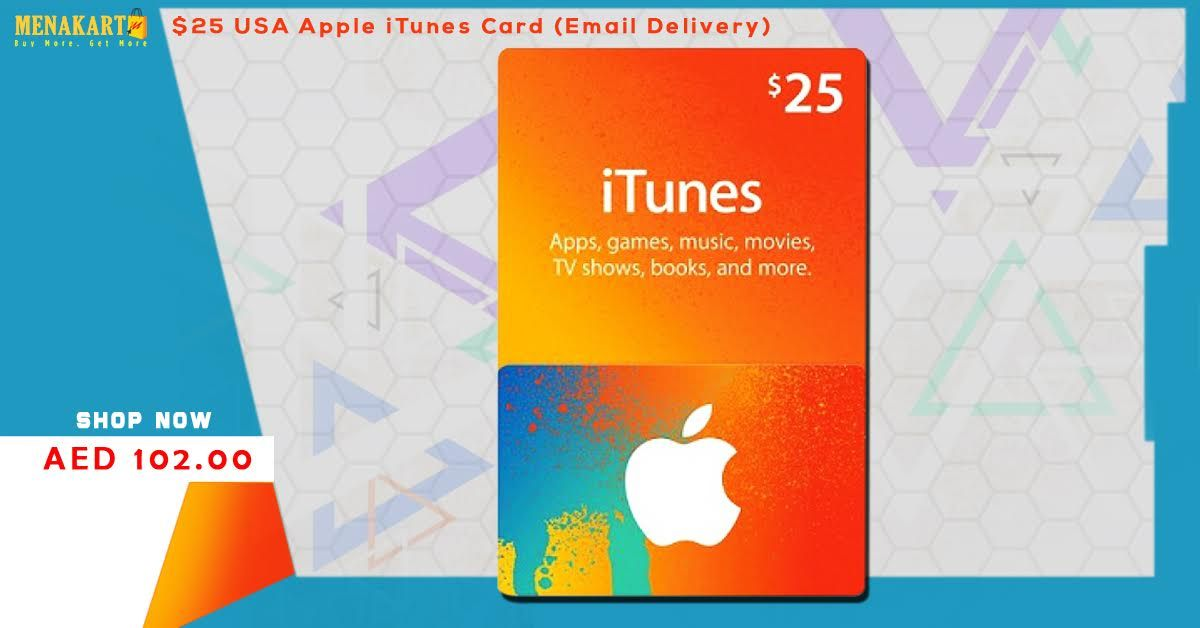 Buy iTunes Gift Card / Gift Voucher online in Dubai, UAE, Saudi Arabia,  Oman, Bahrain, Kuwait And Qatar. Sho… | Itunes card, Itunes gift cards, Gift  vouchers online