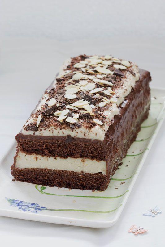 Buche de noel au chocolat sans farine