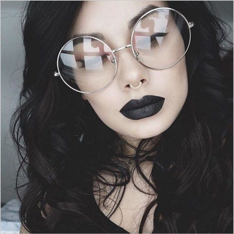 óculos Moda Retro 2018 Armação de Metal unisex - WISH CLUB New 2018 Fashion  Retro Round Glasses Frame For Women Men Circle Metal Frame Eyeglasses Clear  Lens ... 97cda7c4cd