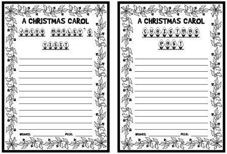 A Christmas Carol Lesson Plans Author: Charles Dickens | Christmas carol, Lesson plans, How to plan