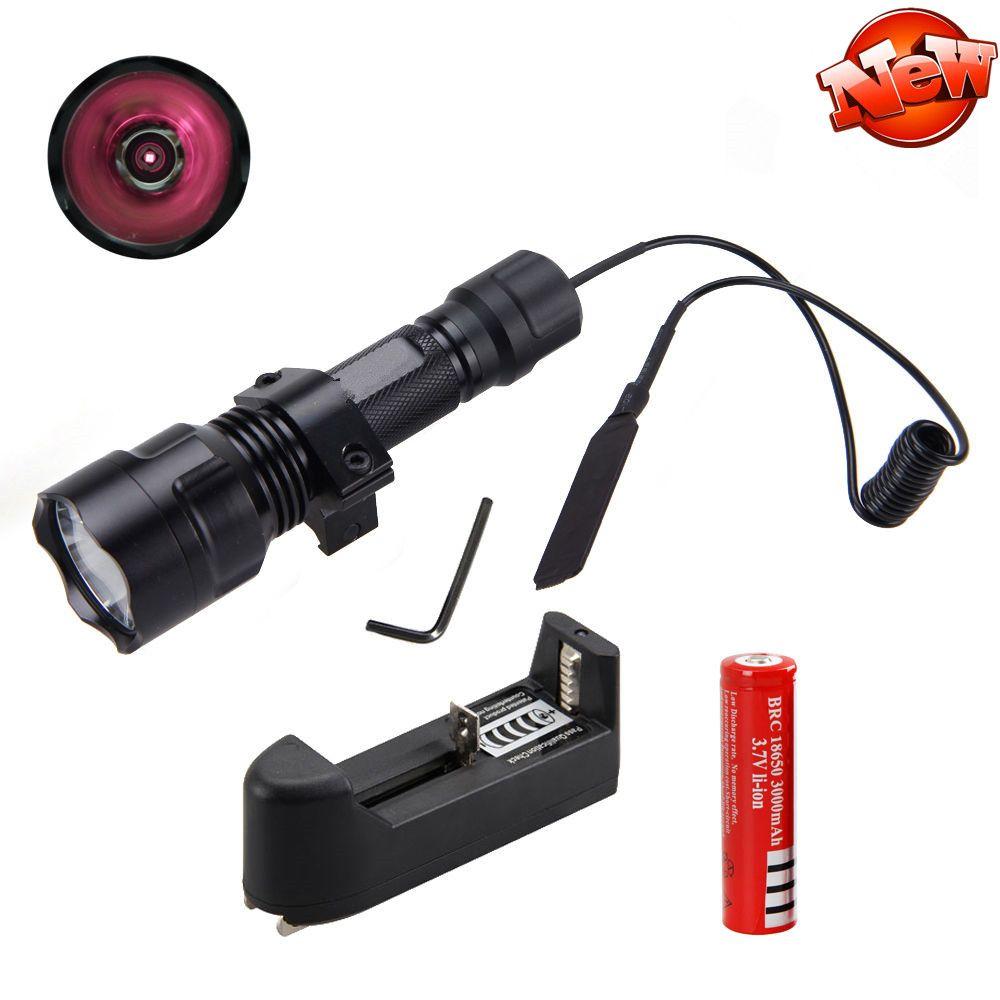 New Osram 850nm 5w Infrared Ir Night Vision Led Flashlight Torch Light 18650 Lamp Portable Light Led Flashlight