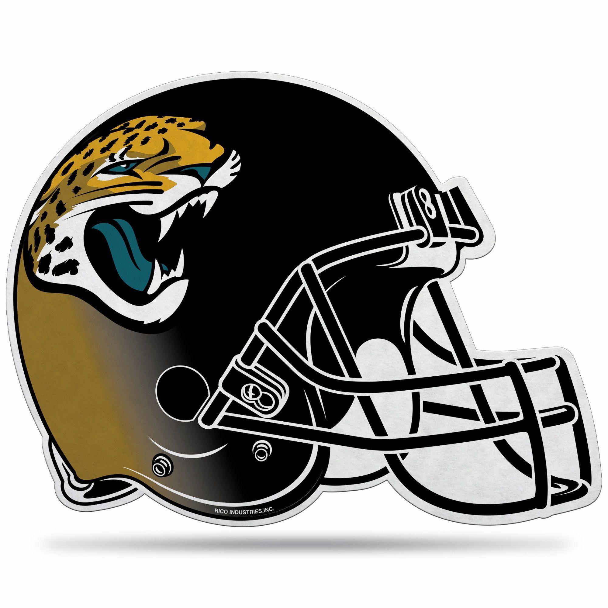 Jacksonville Jaguars Helmet Die-Cut Pennant | Products | Pinterest