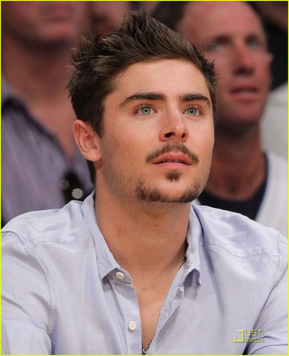 Zack Efron Mens Facial Hair Styles Goatee Styles Mustache Styles