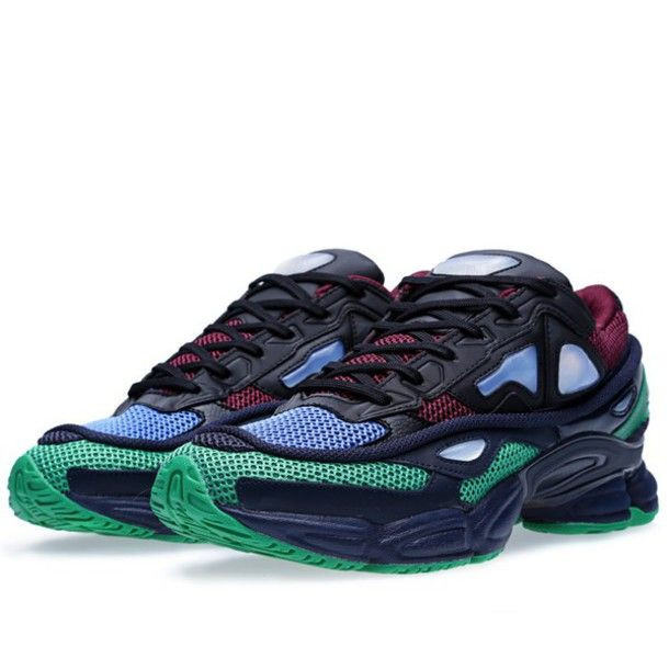 d3bb3178 adidas ozweego 2 adidas raf simons black green blue dark red | Ugly ...