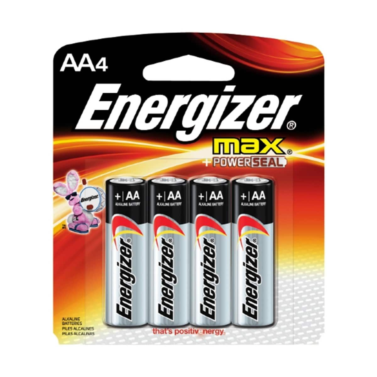 Energizer Max Aa Household Batteries 4ct Energizer Battery Energizer Alkaline Battery