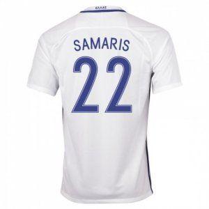 info for 7514d 6345f greece national team 2016 samaris 22 home white jersey ...