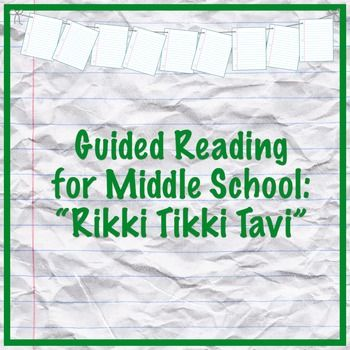 rikki tikki tavi guided reading questions middle school reading