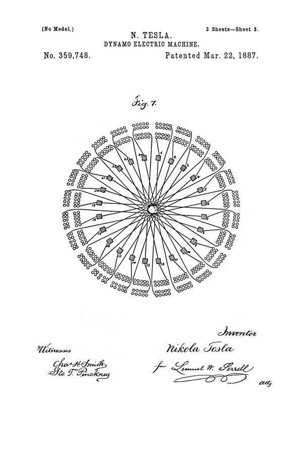 nikola tesla u s  patent 359 748