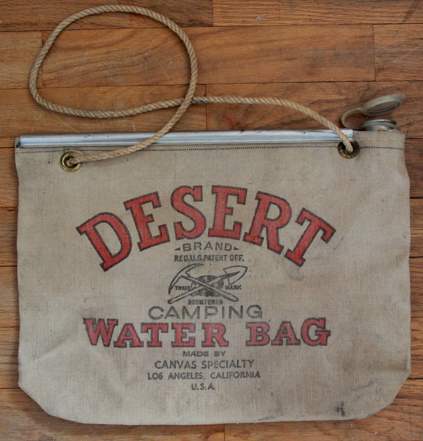 Old Hot Rods | Vintage 50\'s Desert Water Bag - Hot Rod - Car Show ...
