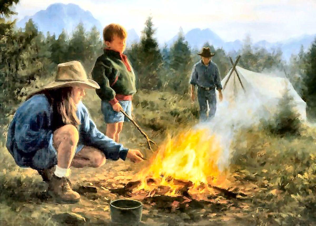 Campfire memories by robert duncan robert duncan robert