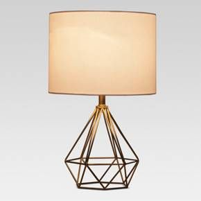 Stylishly Light Up Your Space With This Entenza Geometric Table Lamp From Project 62 The
