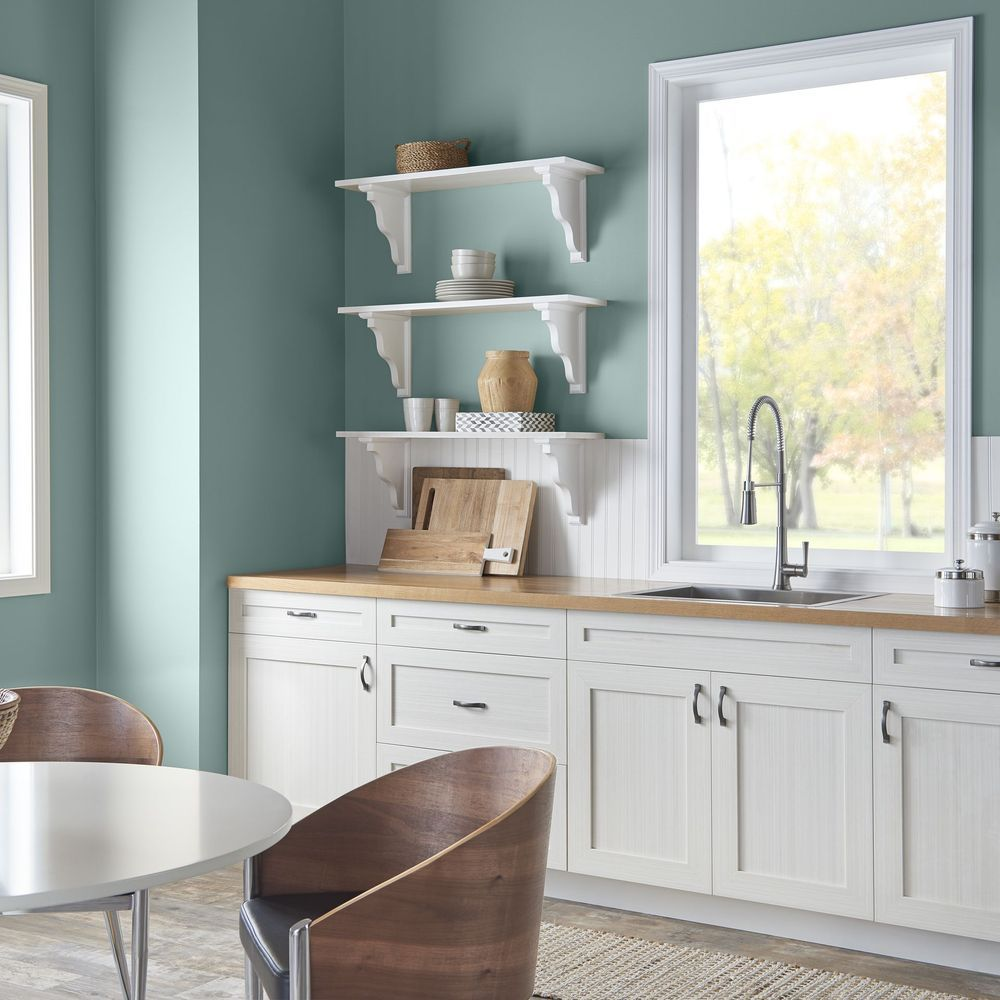 Behrs color of the year is soothing and tranquil paint