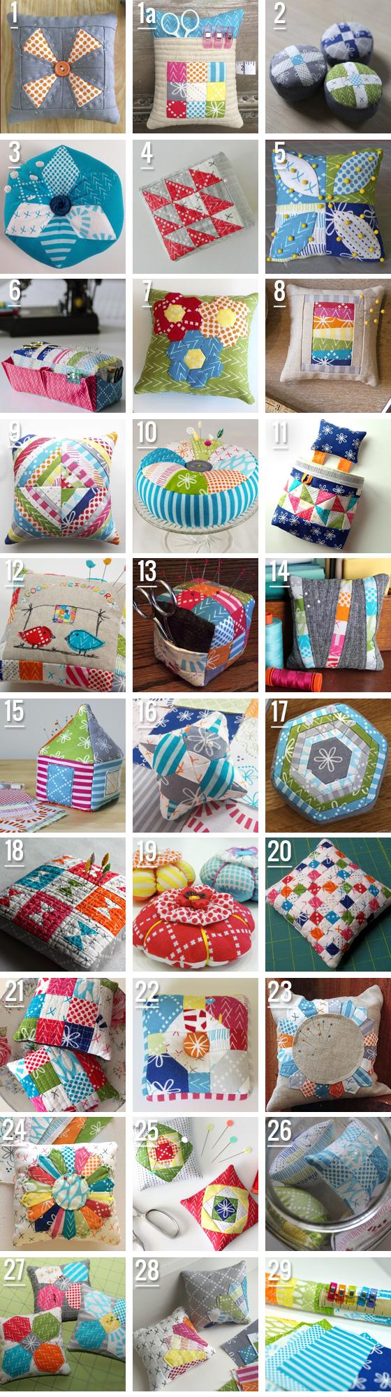 Wuiih...lots and lots of pincushion ideas..love them! | PinCushions ...