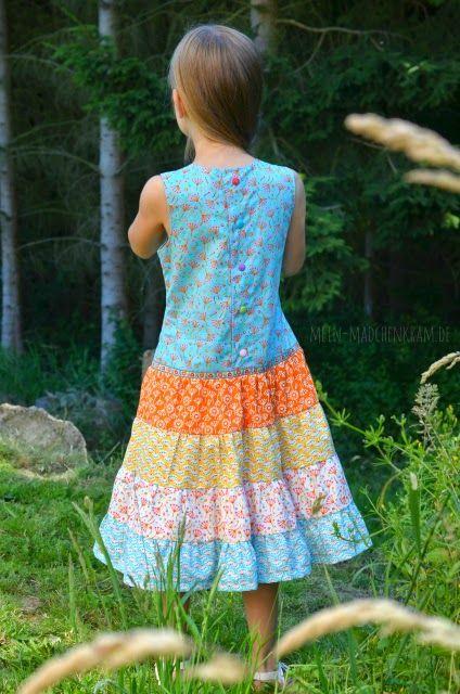 lillesol & pelle Schnittmuster/ pattern: Stufenkleid | Nähen für ...