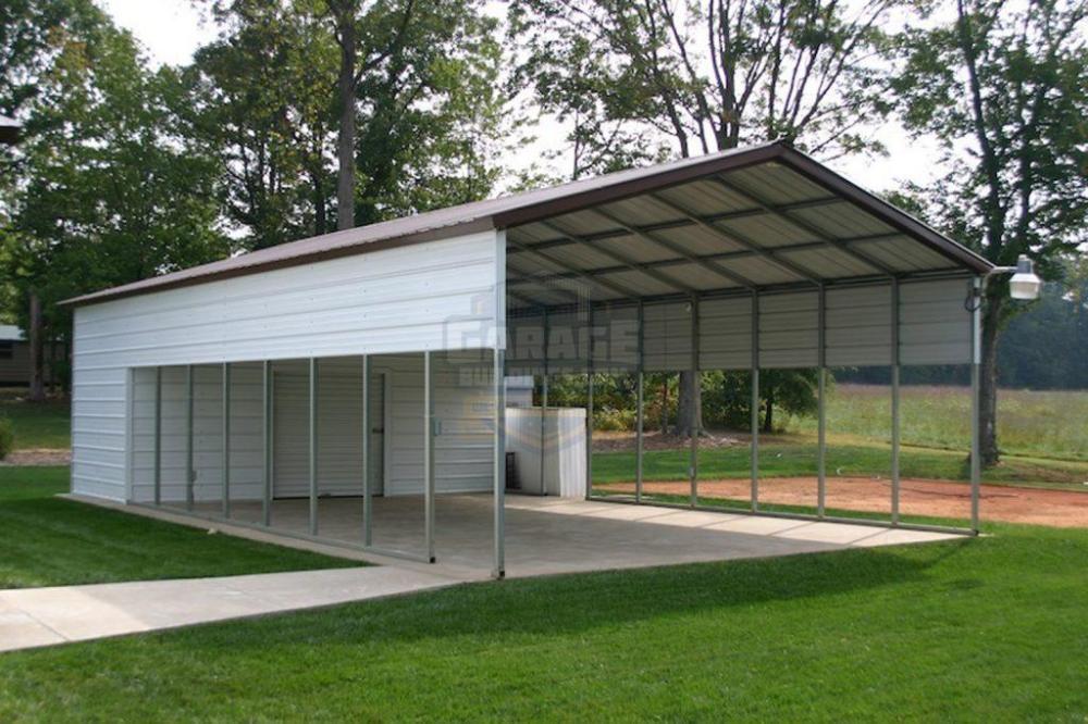 Metal Carport Combo Metal Buildings At Affordable Carport Prices Metal Carports Carport With Storage
