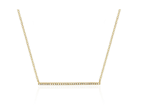 Single Bar Necklace – MUSE REFINED