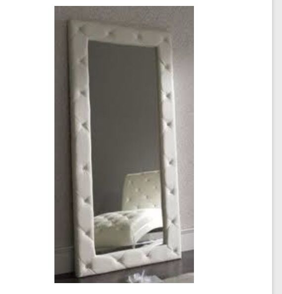 Who Does Want A Leather Quilted Full Length Mirror