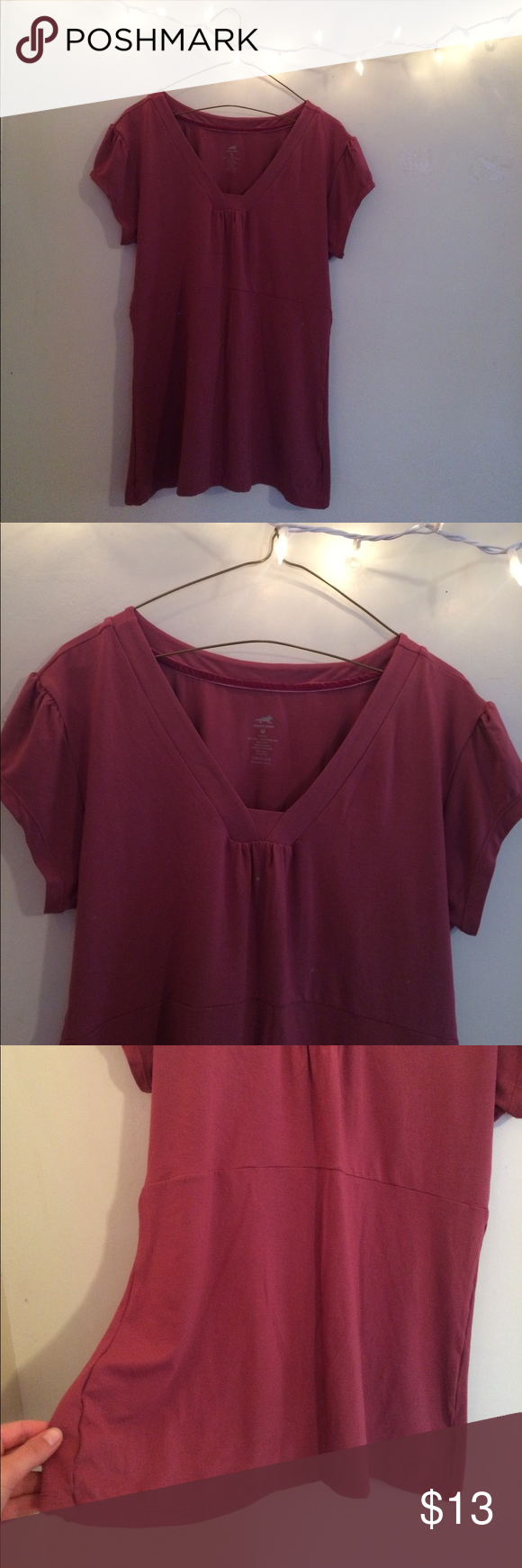 NWOT Horny Toad Mambo Top Pale pink Horny Toad tunic. This piece was purchased brand new, but never fit 😭 I caution the buyer, although it is a size extra large, it doesn't fit big breasts. There are no stains or rips! It's texture is so soft; 94% micro modal, 6% spandex. This top is perfect for yoga or hiking, but also work and everyday wear! Someone take it to a good home ❤️ 🐶pet friendly home🐶🚭smoke free home🚭 Horny Toad Tops Tunics