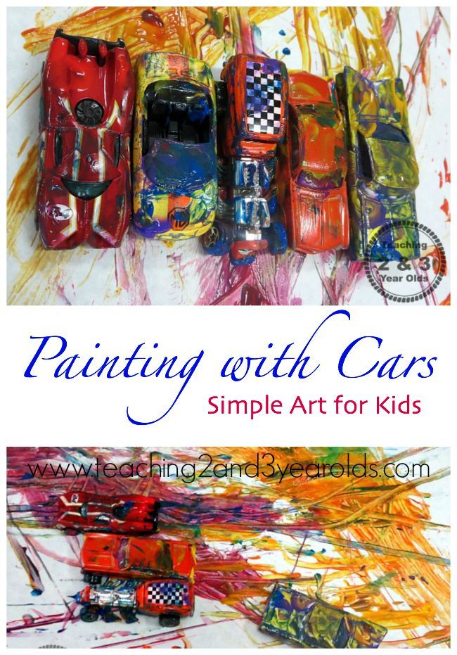Transportation Art For Toddlers And Preschoolers Kids Craft Ideas