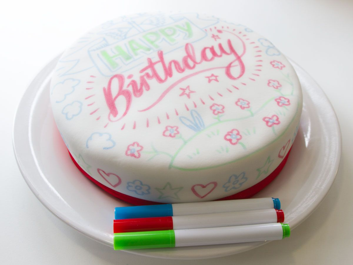 Design Your Own Cake 7