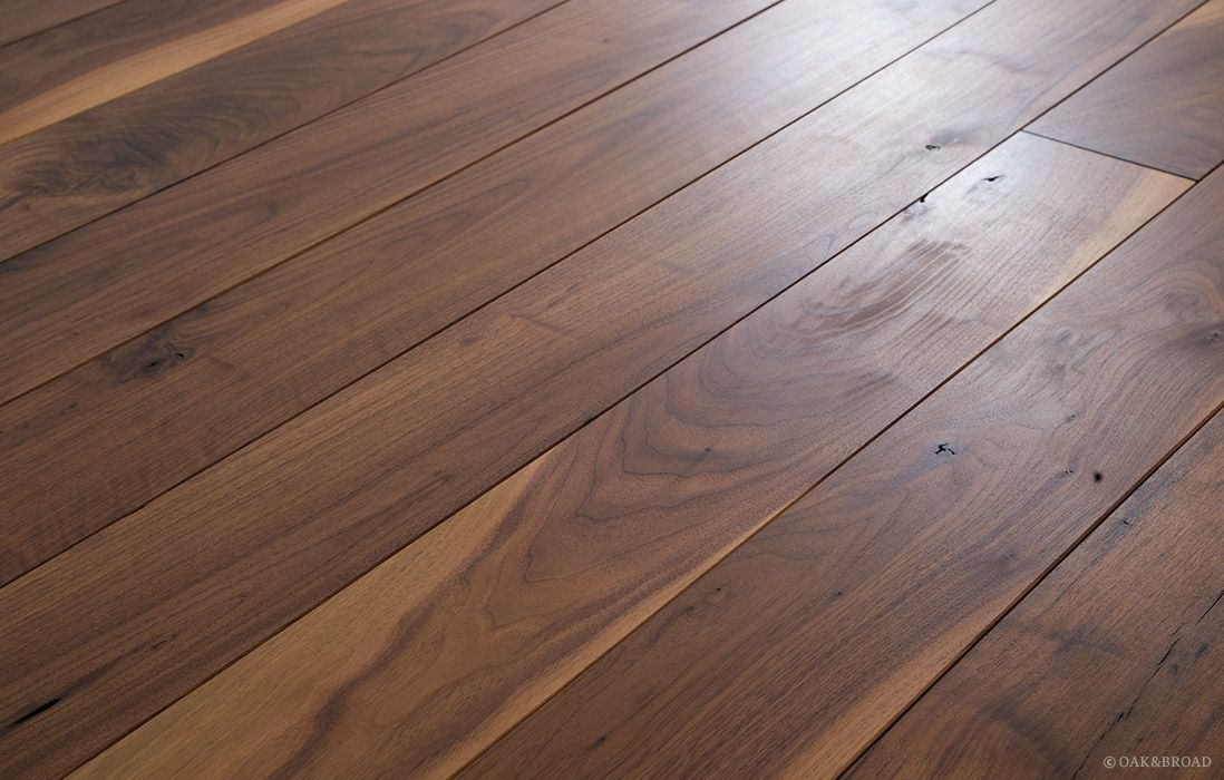 Black Wood Planks ~ Black walnut flooring hardwood wide