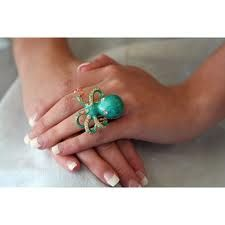 Octopus ring! perfect for summer and James Bond parties :)