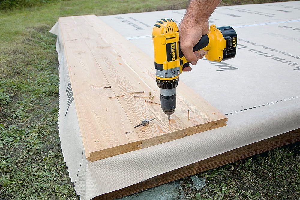 Pin auf Gartenhaus/ selber bauen