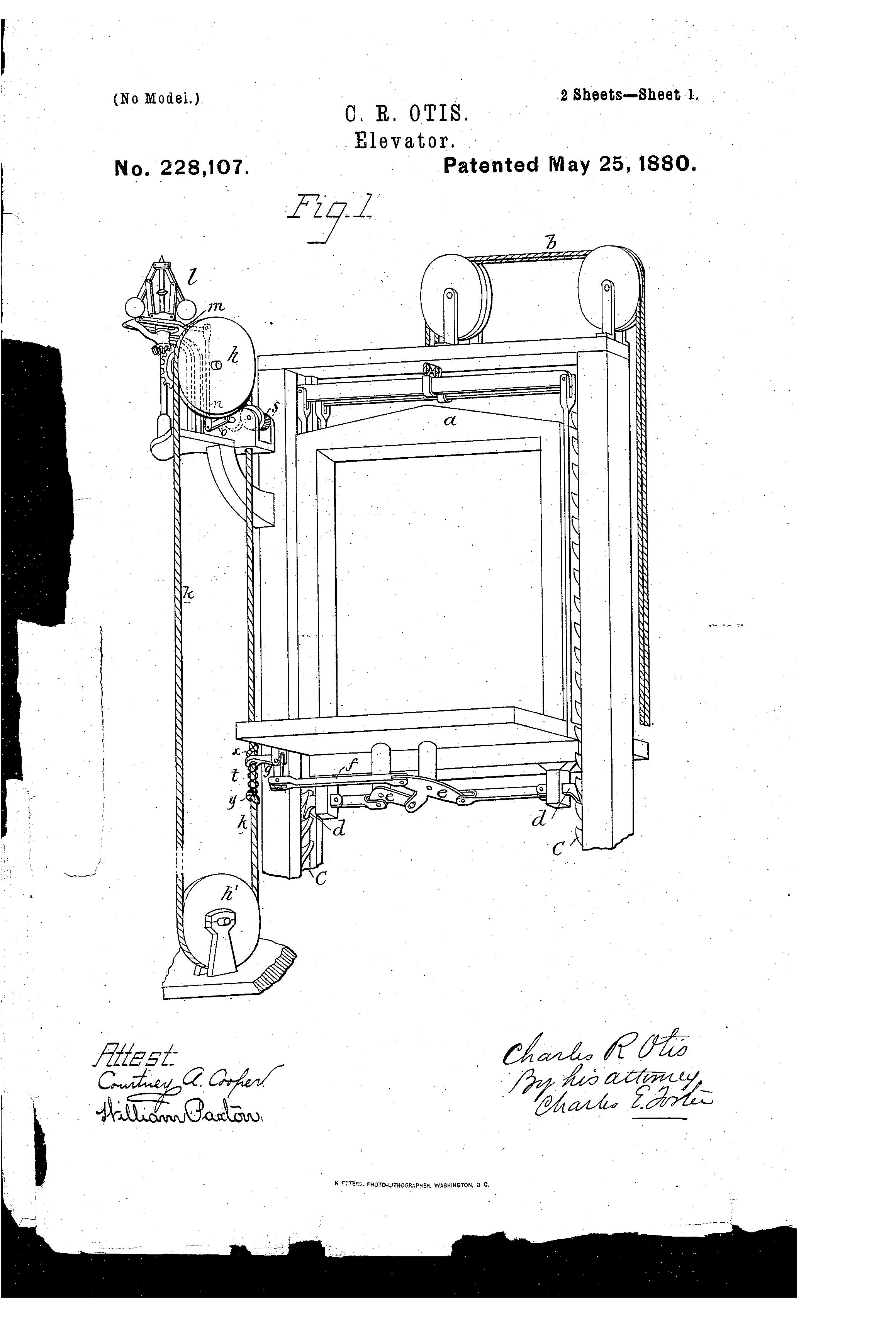 Otis Elevator Schematics