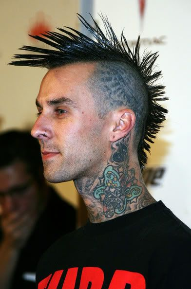 Fanned Mohawk Hairstyles For Men Fanned Mohawk Hairstyles Look Great My Hairstyle Punk Peliculas Online