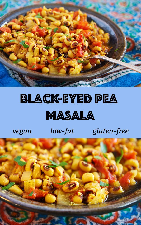 Blackeyed Pea Masala Recipe Indian food recipes, Food