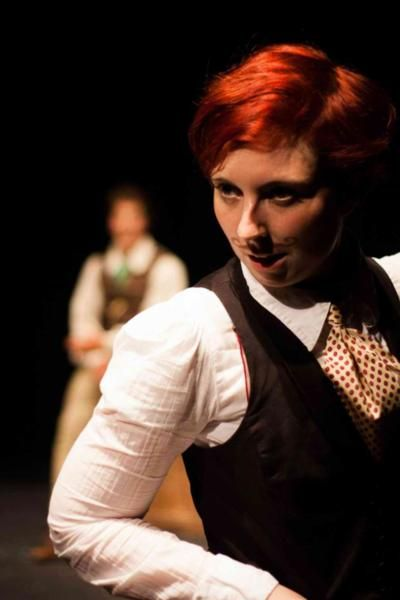 Fran Rafferty as Rosalind in As You Like It - Image Michael Smith, SEDOS 2012