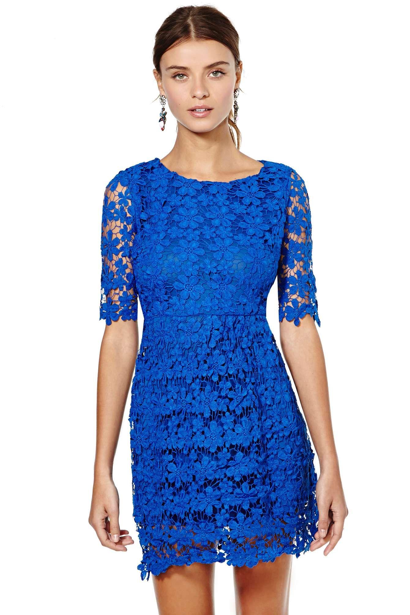 Royal blue wedding guest dress | vestidos top | Pinterest | Blue ...