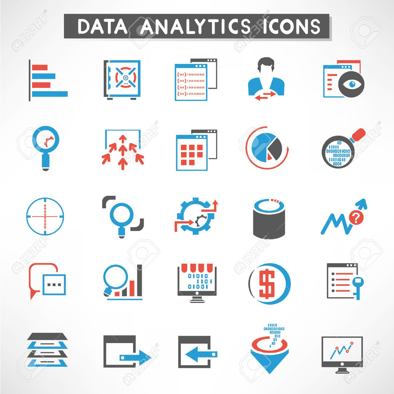 datacenter icons Google Search Data analytics, Icon