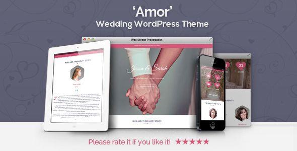 nice Amor - Wedding WordPress Theme (Wedding)