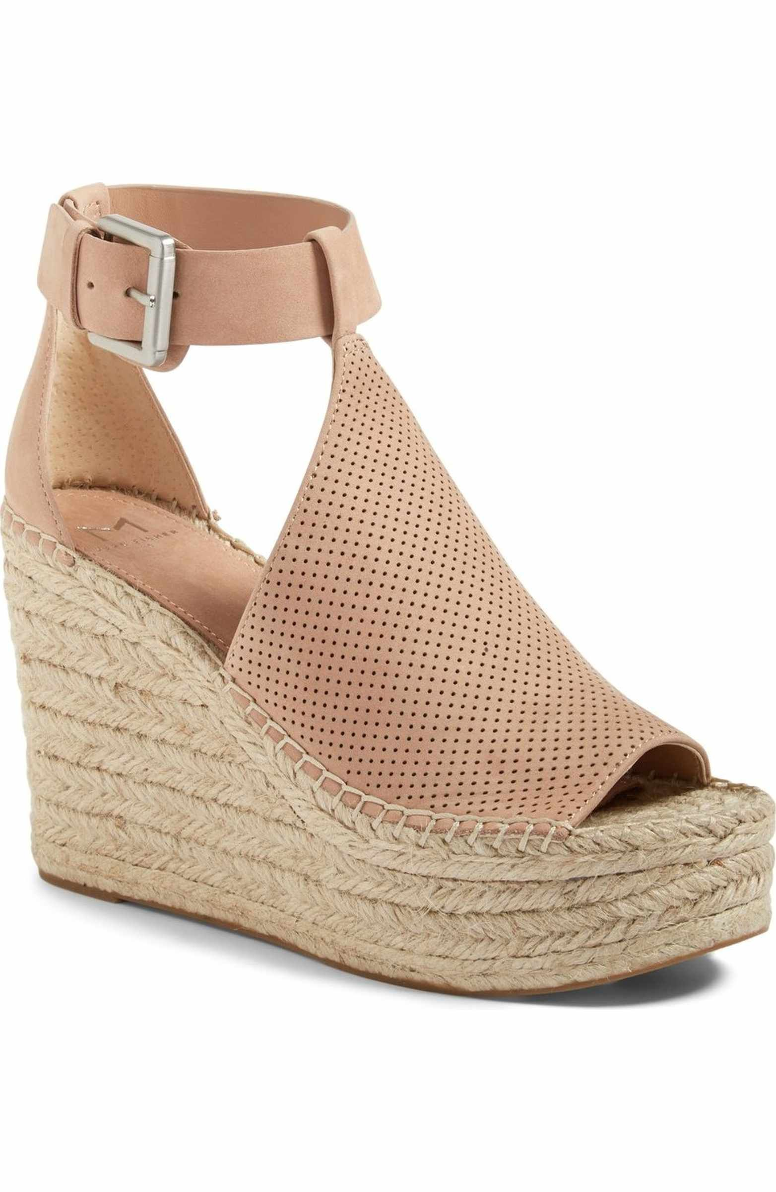 eb28de93ec1 Main Image - Marc Fisher LTD Annie Perforated Espadrille Platform ...
