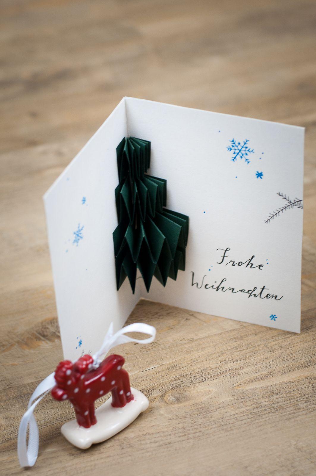 eine sch ne weihnachtskarte selber basteln 3d weihnachtskarten sind dieses jahr sehr angesagt. Black Bedroom Furniture Sets. Home Design Ideas