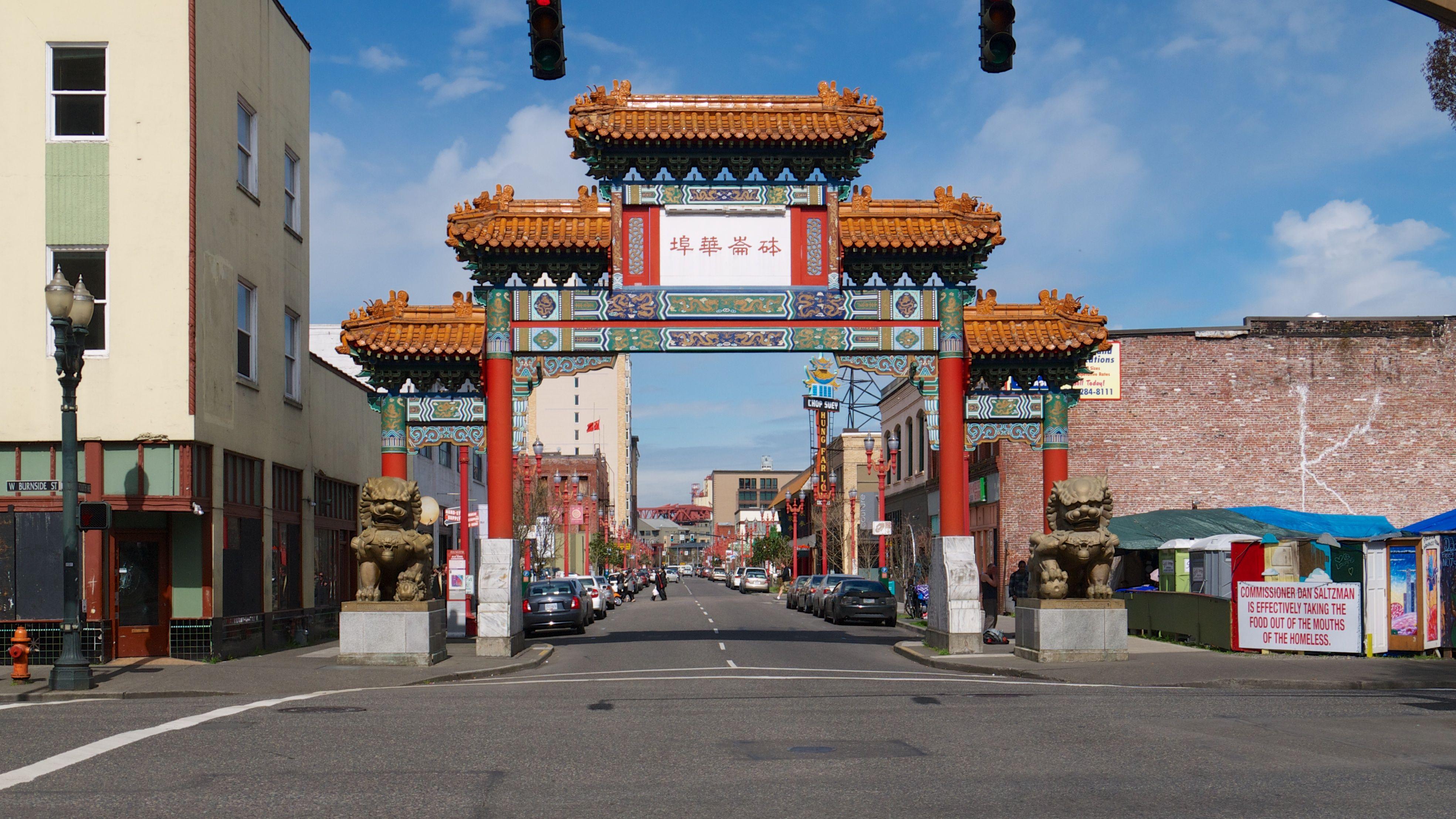 Chinatown Portland Oregon Photo
