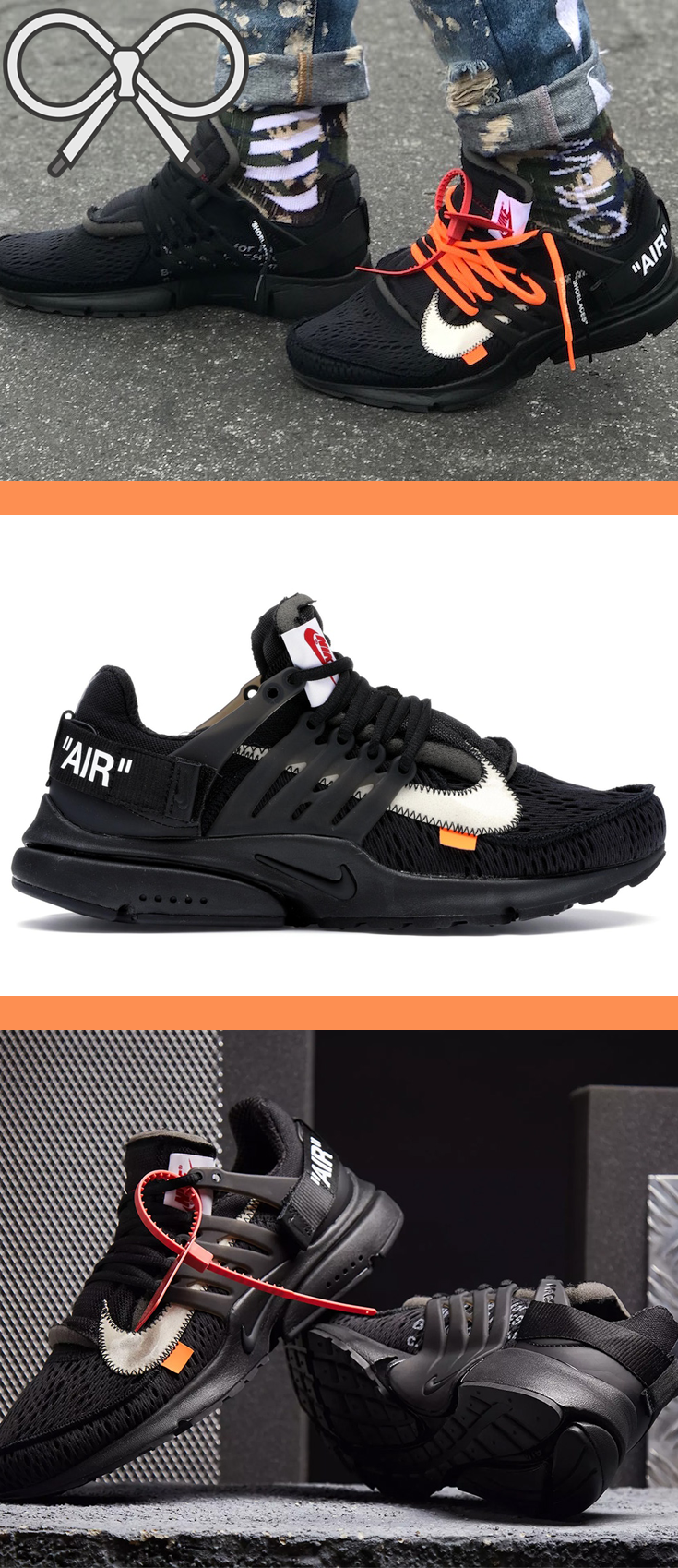 847d98cc2af8 Black White-Cone colorway. Making it s return after Abloh s first ...
