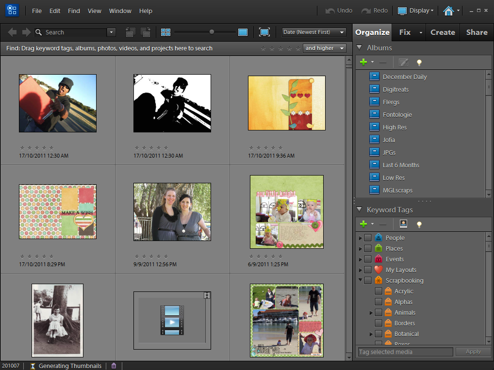 how to ensure all your files are in photoshop elements organizer photoshop elements tutorialsadobe