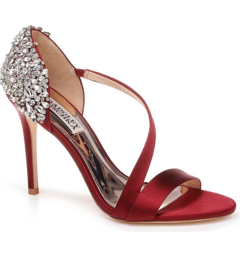 Badgley Mischka Pauline Sandal (Women | Jeweled sandals