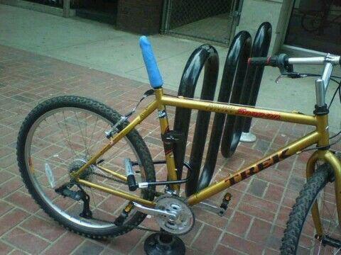 Not take Bike seat dildo gif pity