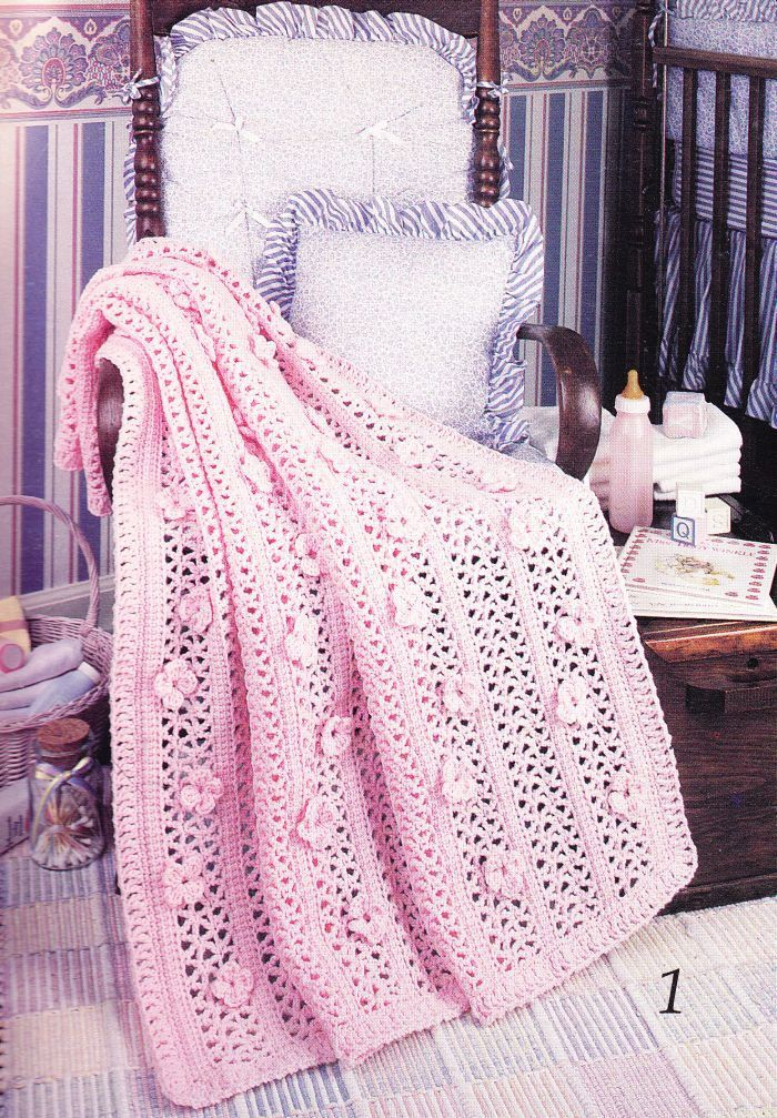 Baby Afghan Crochet Patterns  7 Lovely Designs by PaperButtercup