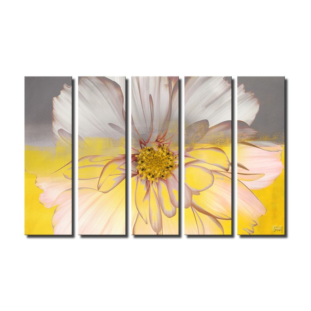 Overstock Com Online Shopping Bedding Furniture Electronics Jewelry Clothing More 5 Piece Canvas Art Yellow Wall Art Canvas Wall Art