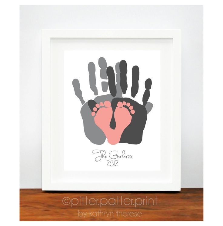 Baby Handprint Picture Ideas