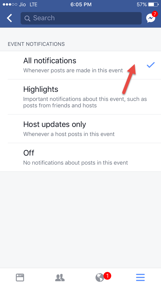 How To Turn Off Facebook Event Notifications On iPhone