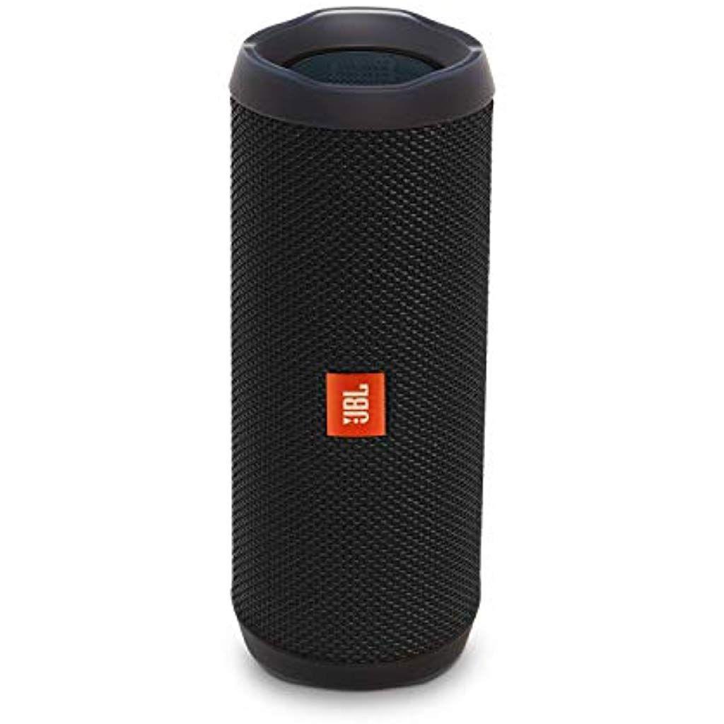 Jbl Flip 4 Bluetooth Box In Schwarz Wasserdichter Tragbarer Lautsprecher Mit Freisprechfunktion Alexa Integration Bis Zu 12 Stunden Wireless Streaming Mit Logs