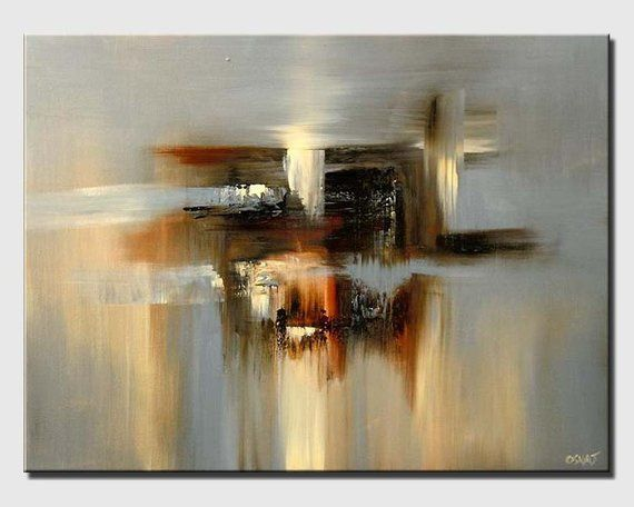 Abstract Print Abstract Painting Wall Art Print On Canvas