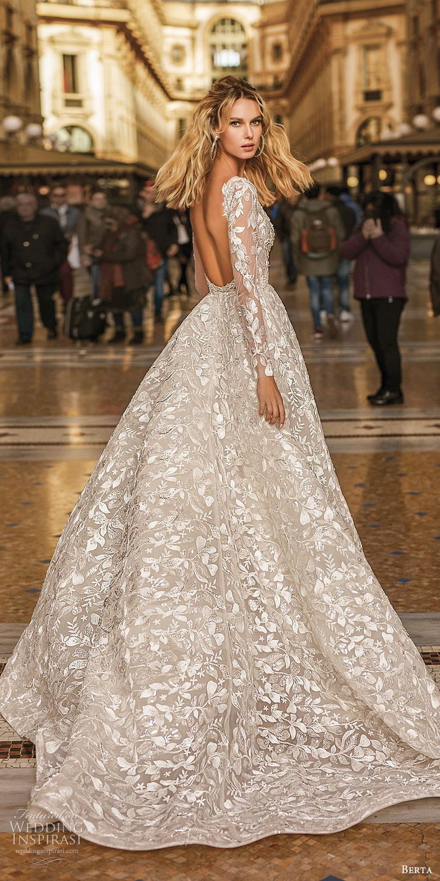 "Berta Spring 18 Wedding Dresses — ""Milano"" Bridal Collection"